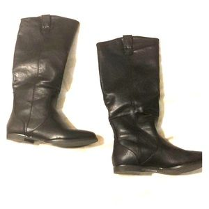 NWOT forever21 black over the knee boots